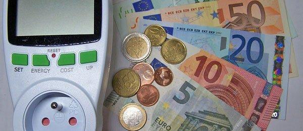 Taschenrechner und Bargeld
